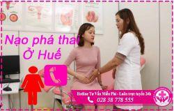 Địa chỉ nạo phá thai an toàn ở Huế uy tín hơn bệnh viện phòng khám tư