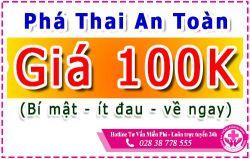 Địa chỉ phá thai giá rẻ ở TPHCM - An Toàn - Kín Đáo - Không Đau
