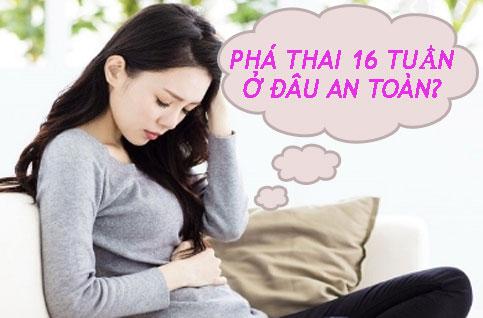 bỏ thai 16 tuần bao nhiêu tiền là câu hỏi được rất nhiều chị em gửi đến trung tâm chúng tôi nhờ tư vấn giúp. Vậy qua đây, các chị hãy nhấp vào link kèm bên dưới bài viết để biết chi phí tiến hành bỏ thai 16 tuần hết bao nhiêu