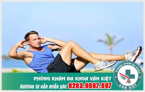Tập thể dục thường xuyên giúp tăng cường sức khỏe và cải thiện sinh lý.