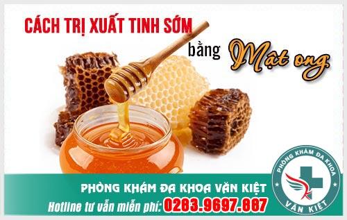 Mật ong là thực phẩm vàng trong làng chữa sinh lý phái mạnh.