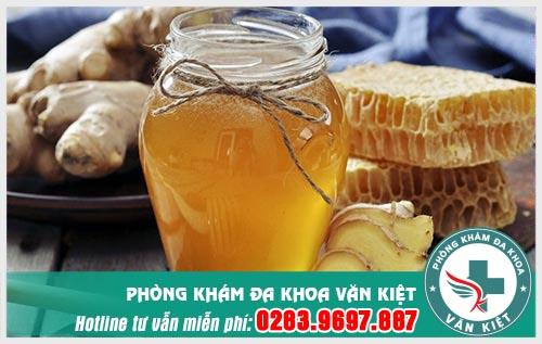 Kết hợp gừng với mật ong sẽ là bài thuốc chữa yếu sinh lý hiệu quả