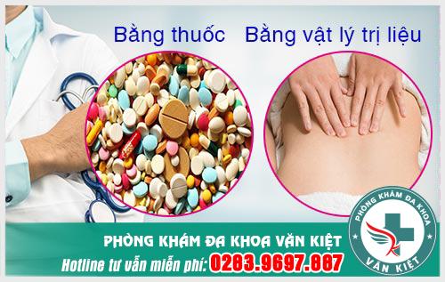 Điều trị đau vùng kín sau sinh, đau vùng xương mu sau khi sinh bằng thuốc và bằng vật lý trị liệu.