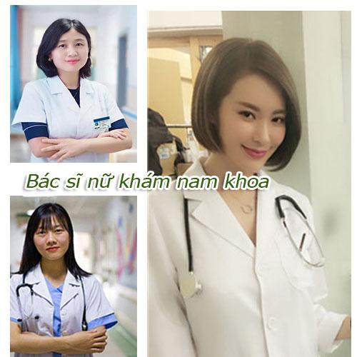 Hình ảnh bác sĩ nữ khám nam khoa - Đội ngũ tư vấn về cách điều trị bệnh lý ở nam giới
