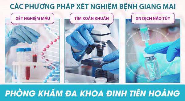 Áp dụng phương pháp điều trị bệnh giang mai tại các bệnh viện lớn ở Tphcm