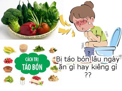 Bị táo bón lâu ngày nên ăn gì uống gì và không ăn thực phẩm nào ?